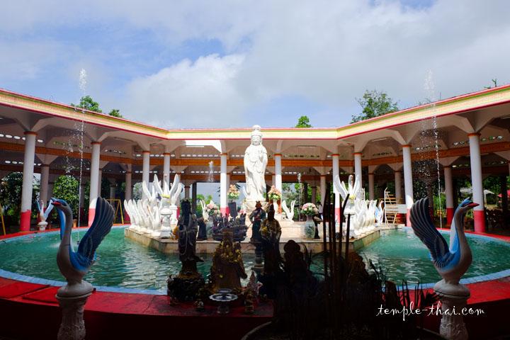 Le sanctuaire prisé en l'honneur de Guanyin