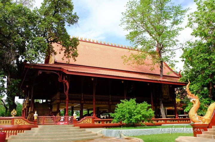 Pavillon accueillant des séances de méditation