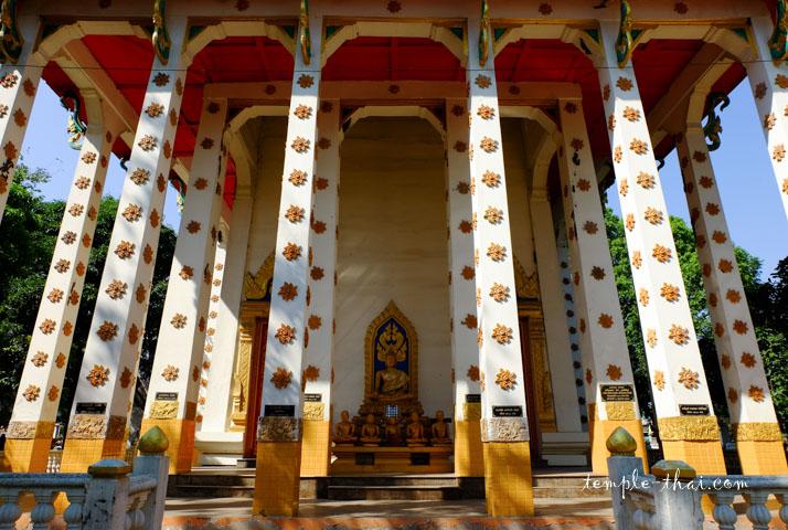 La salle d'ordination et ses colonnes