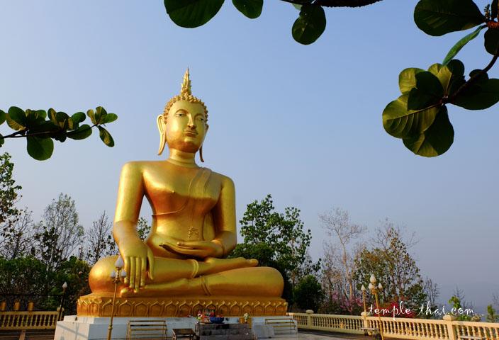 le bouddha à la lumière matinale