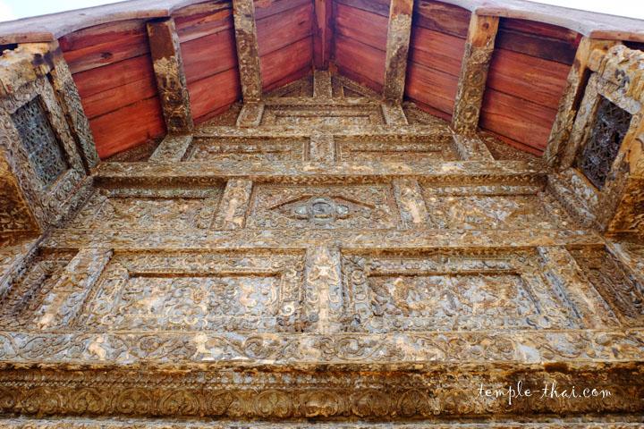 Fronton du Viharn et ses bas-reliefs