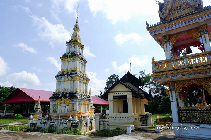 Sim Isan et stupa