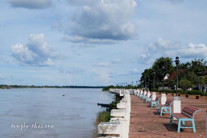 Le fleuve Mékong près de Nong Khai