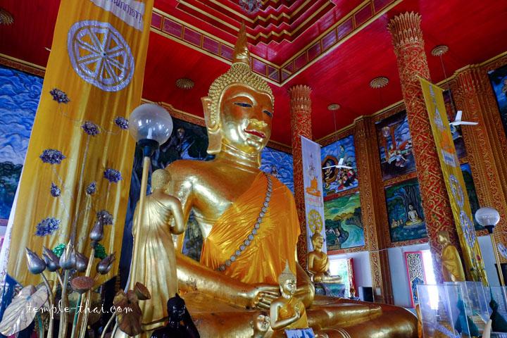 bouddha de huit mètres de haut