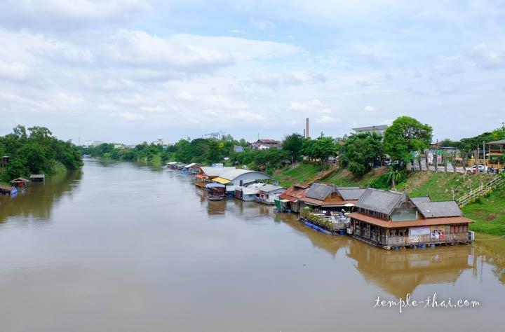 La rivière Nan à Phitsanulok