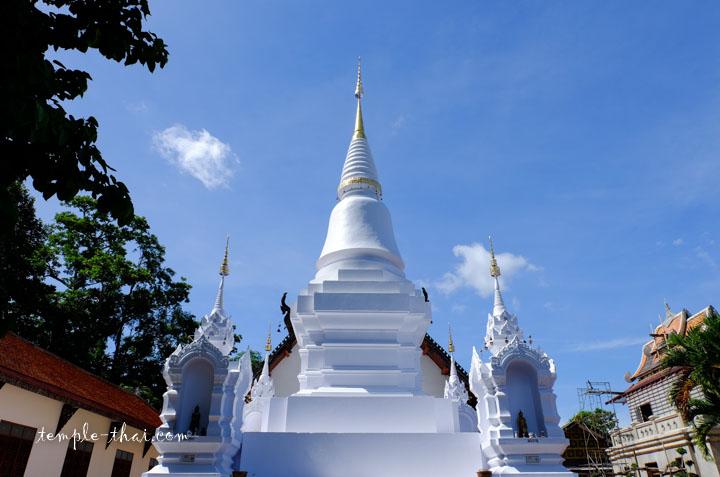 Stupa blanc