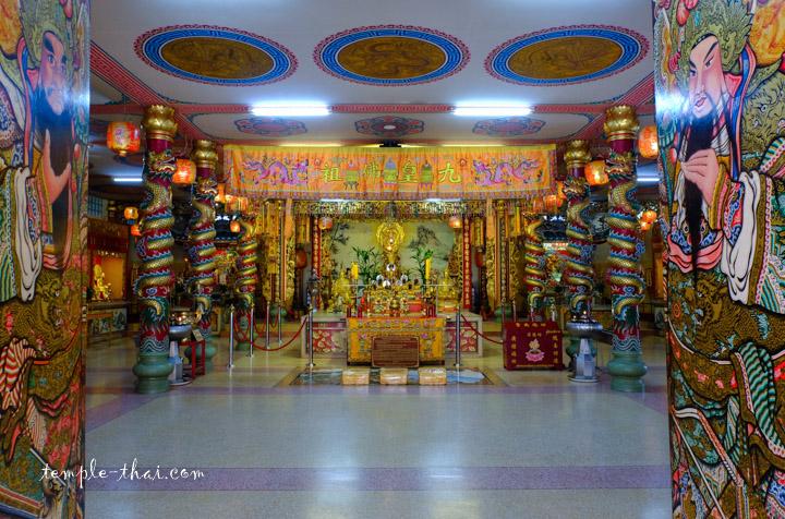 Sanctuaire chinois à Samut Sakhon
