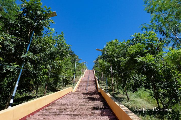 escalier en Thaïlande