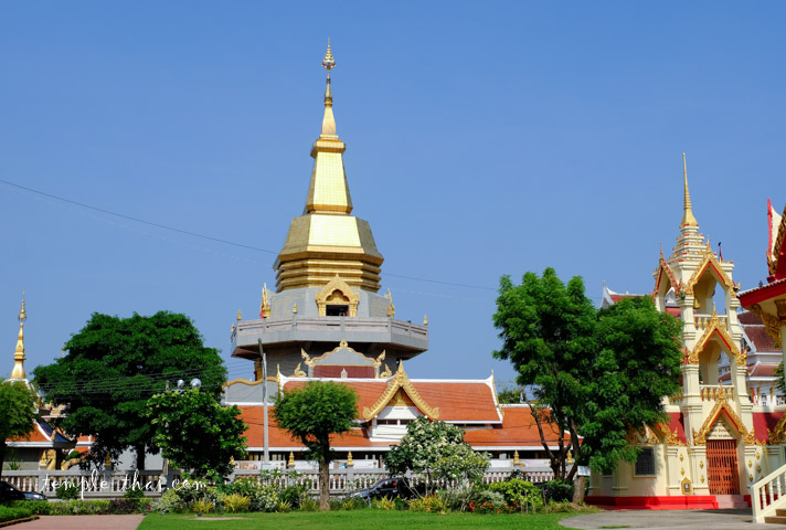 Phra Borommathat Chedi (พระบรมธาตุธรรมเจดีย์)